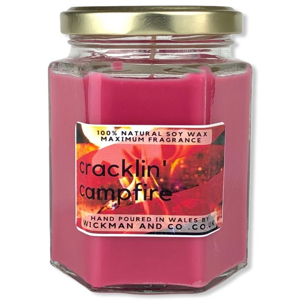 Cracklin' Campfire Soy Wax Candle